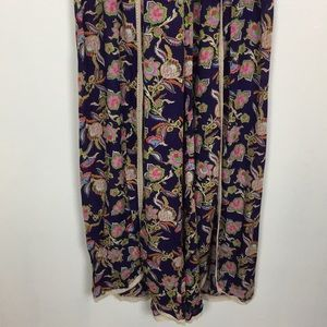 Anthropologie Pants - Anthropologie Flower Flare Trouser Pants